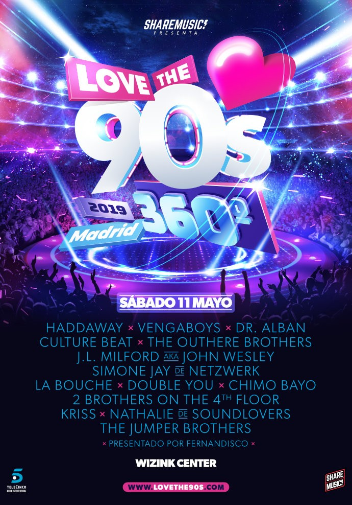 @Love the 90' Madrid 2019