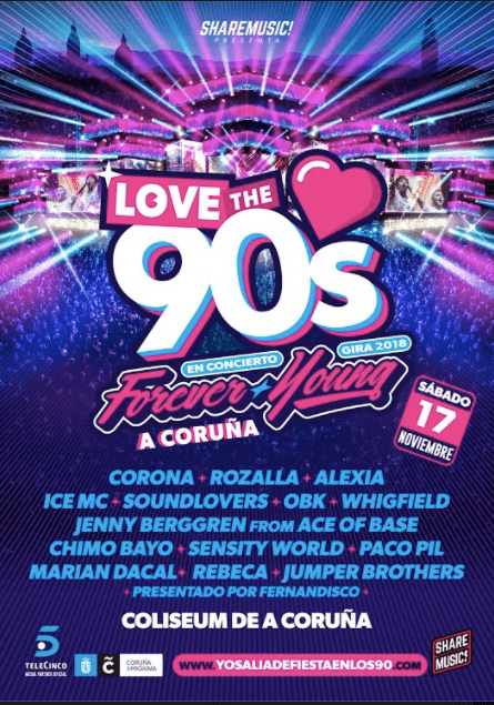 @Love the 90's Coliseum A Coruna 2018