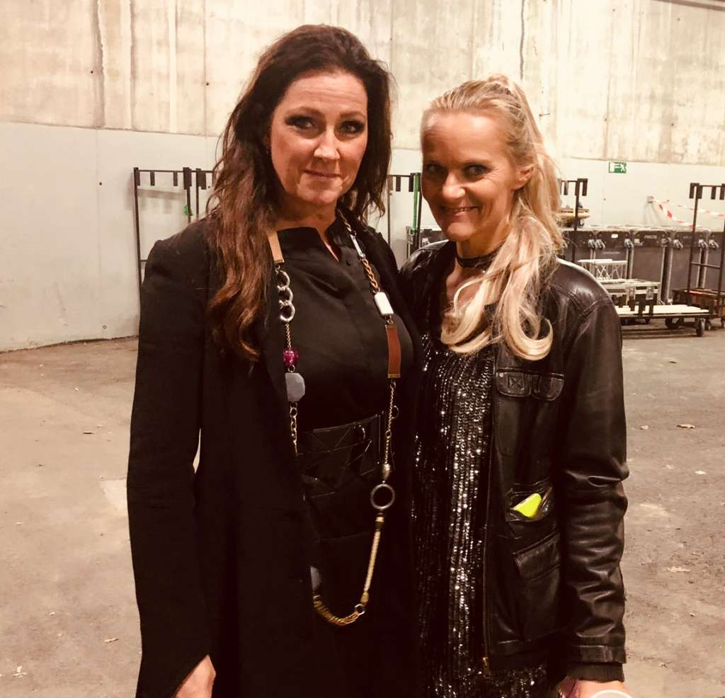 with Jenny from Ace of Base 2018