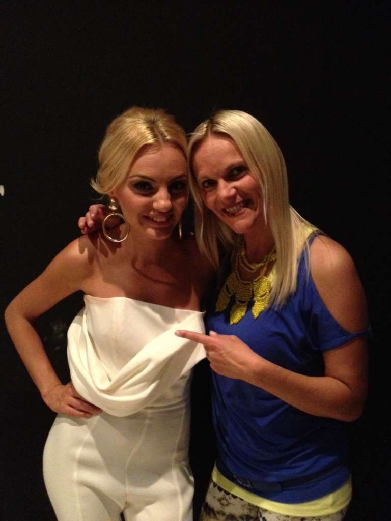 With Alexandra Stan 2013