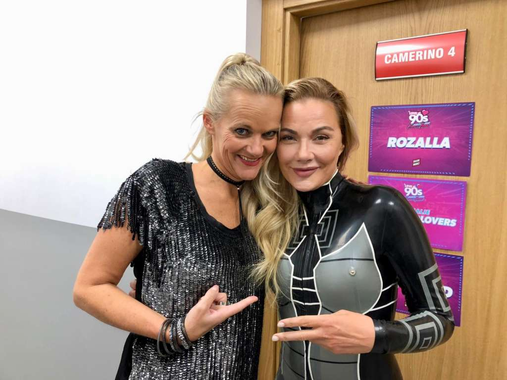 With Whigfield 2018