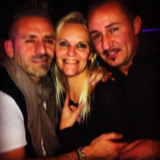 With Dj Ross & Alessandro Viale 2014