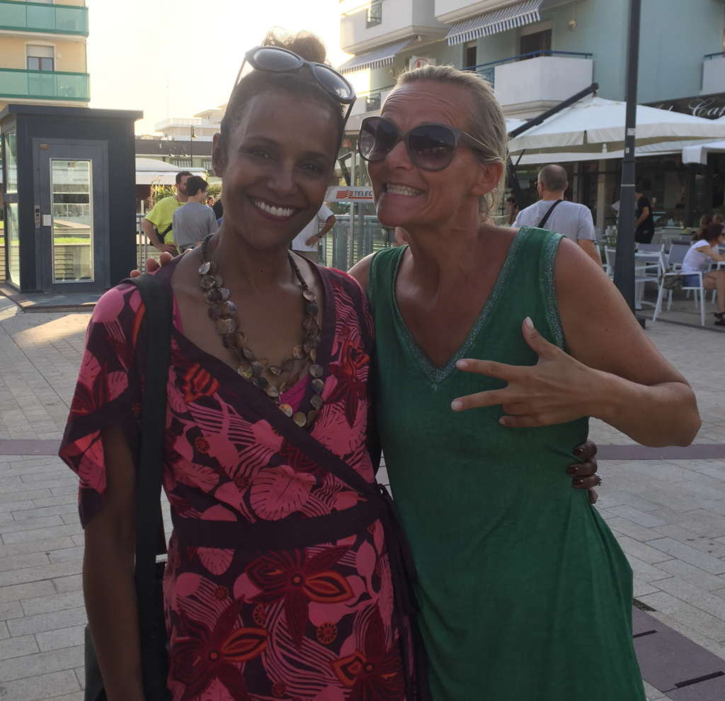 @Jesolo with Tracy Spencer 2017