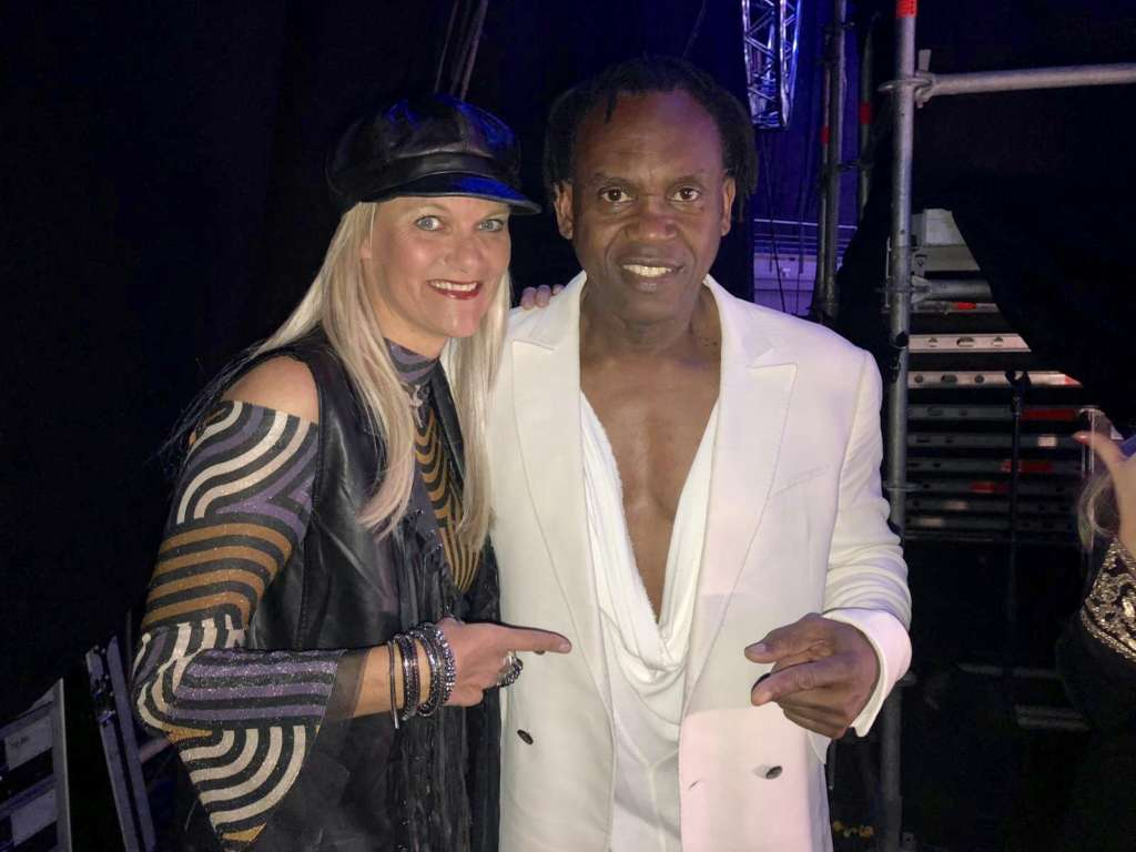 With Dr. Alban